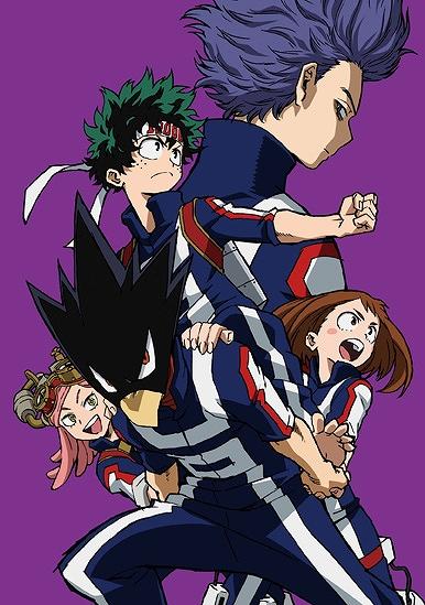 Tvアニメ 僕のヒーローアカデミア Blu Ray Dvd第2巻のジャケットは騎馬戦で戦う出久チーム 心操人使 Anime Recorder
