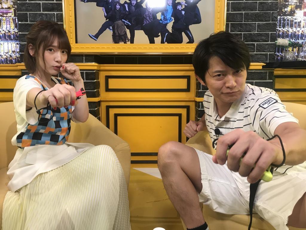 声優と夜あそび 下野紘 内田真礼が フィット ボクシング に挑戦