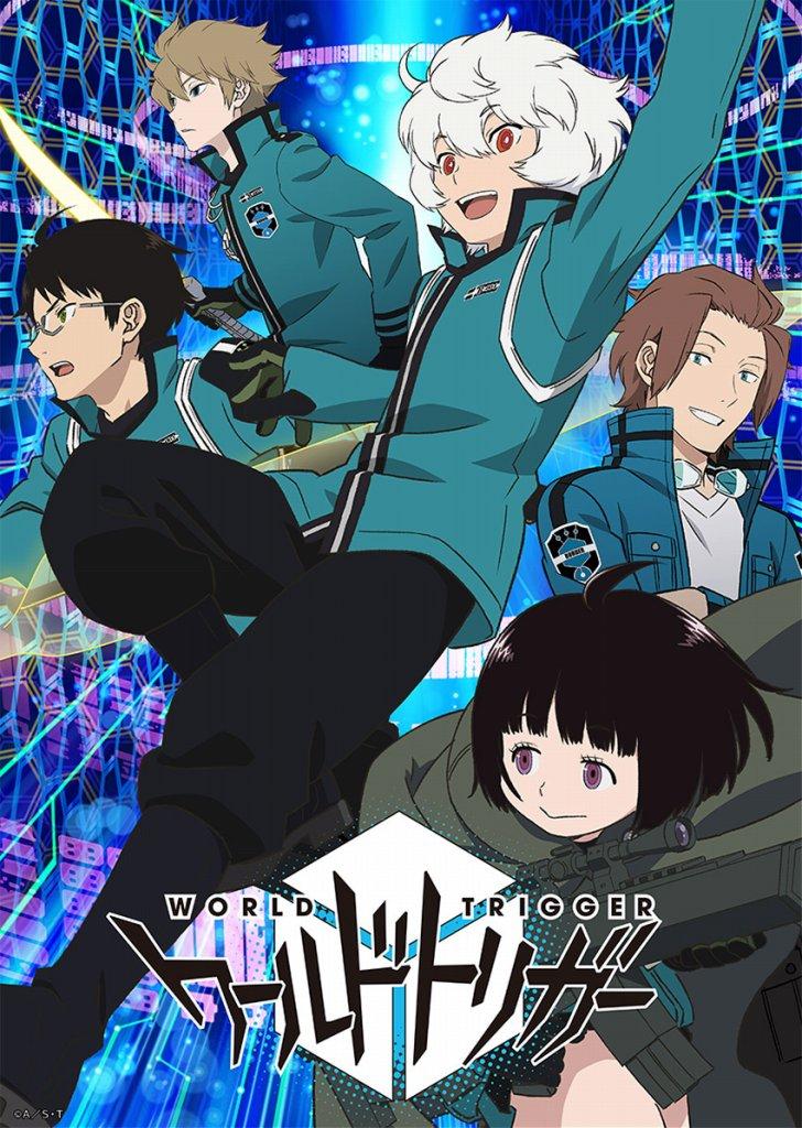 【アニメ】『ワールドトリガー』TVアニメ新シーズンが制作決定。村中知、梶裕貴らキャスト陣のコメントが到着